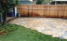 Recent Backyard Patios Project