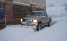 Recent Snow Removal Project